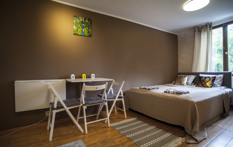 Ruim studio-appartement in Antwerpen / eerste verdieping