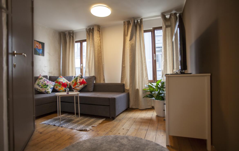 Просторная студия в Антверпене / первый этаж