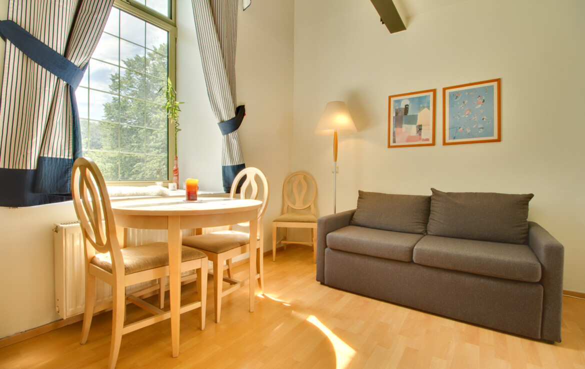 Two-storey apartment on the edge of Tallinn's Old Town. Near the port and train station.