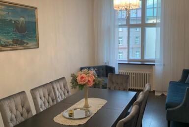 Kolmetoaline luxuslik korter Tallinna vanalinnas, mullivanniga